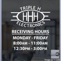 Triple H Electronics - Receiving